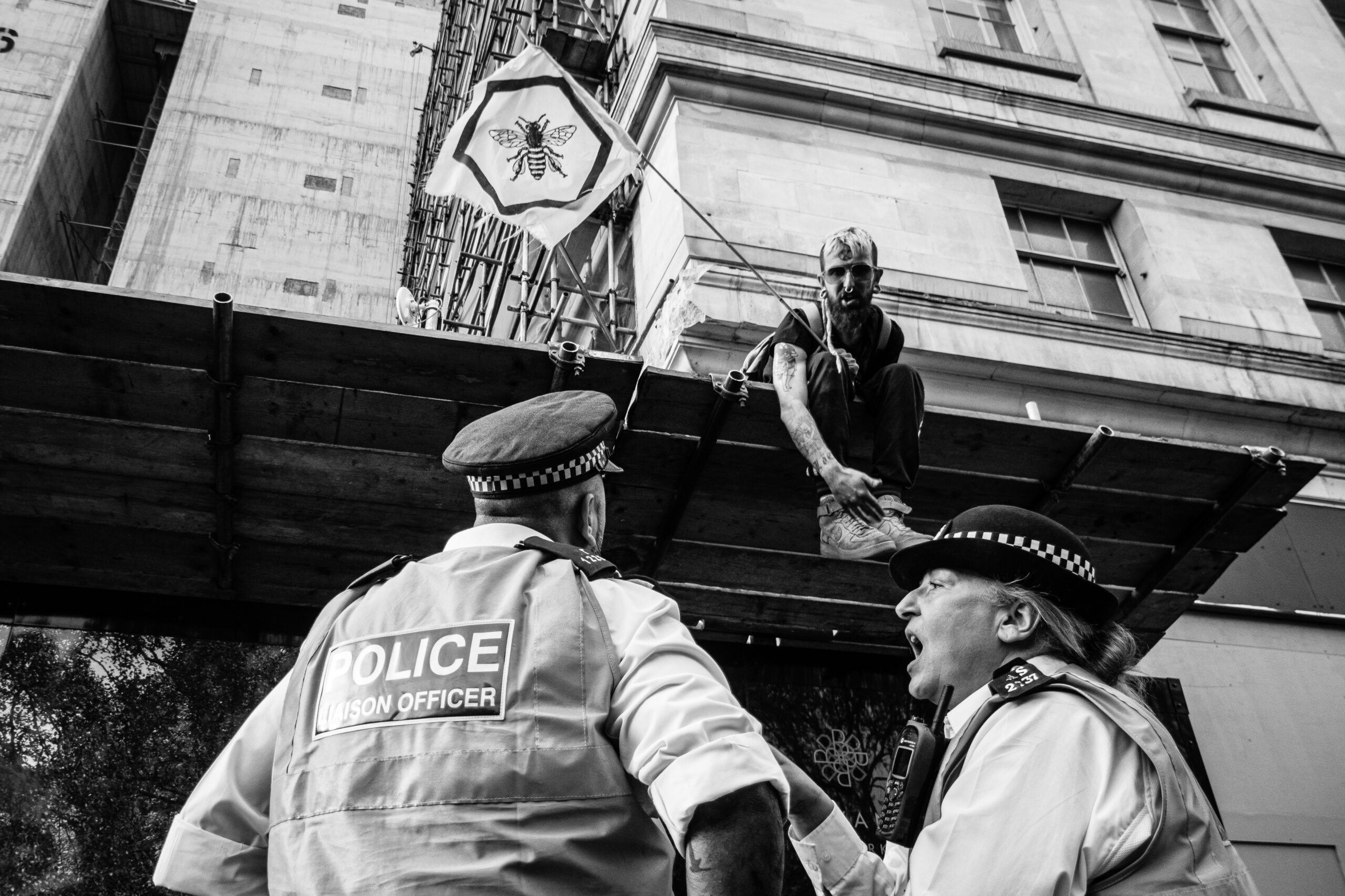 Extinction Rebellion London. First Rebellion