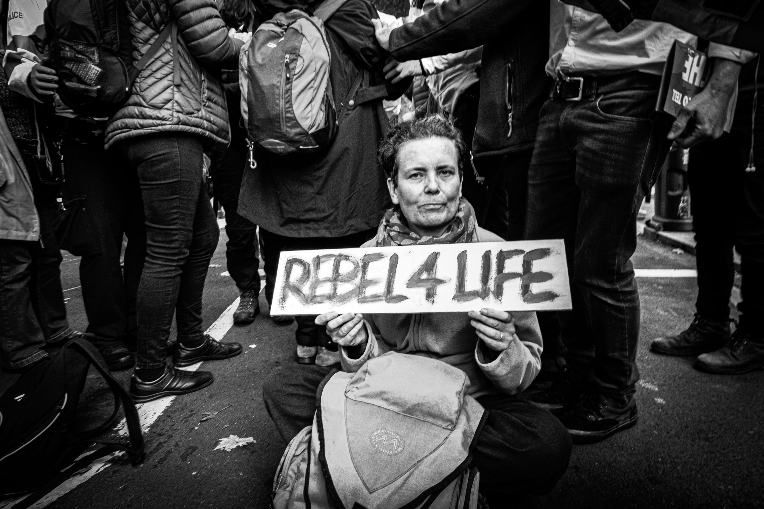 Photo reportage about Extinction Rebellion protest in London, 2020 by Vincenzo Lullo Photo