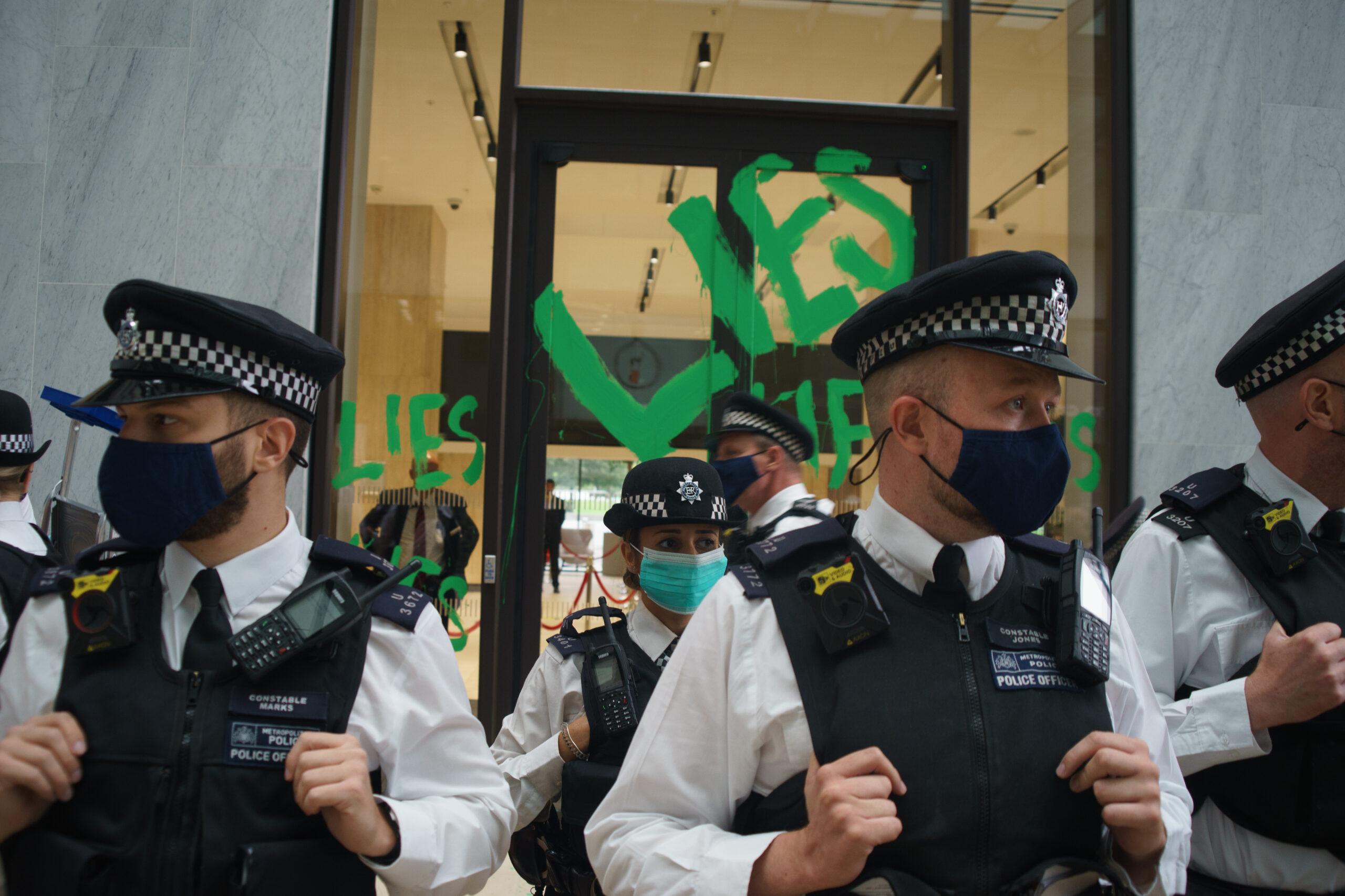Shell, Police, Extinction Rebellion