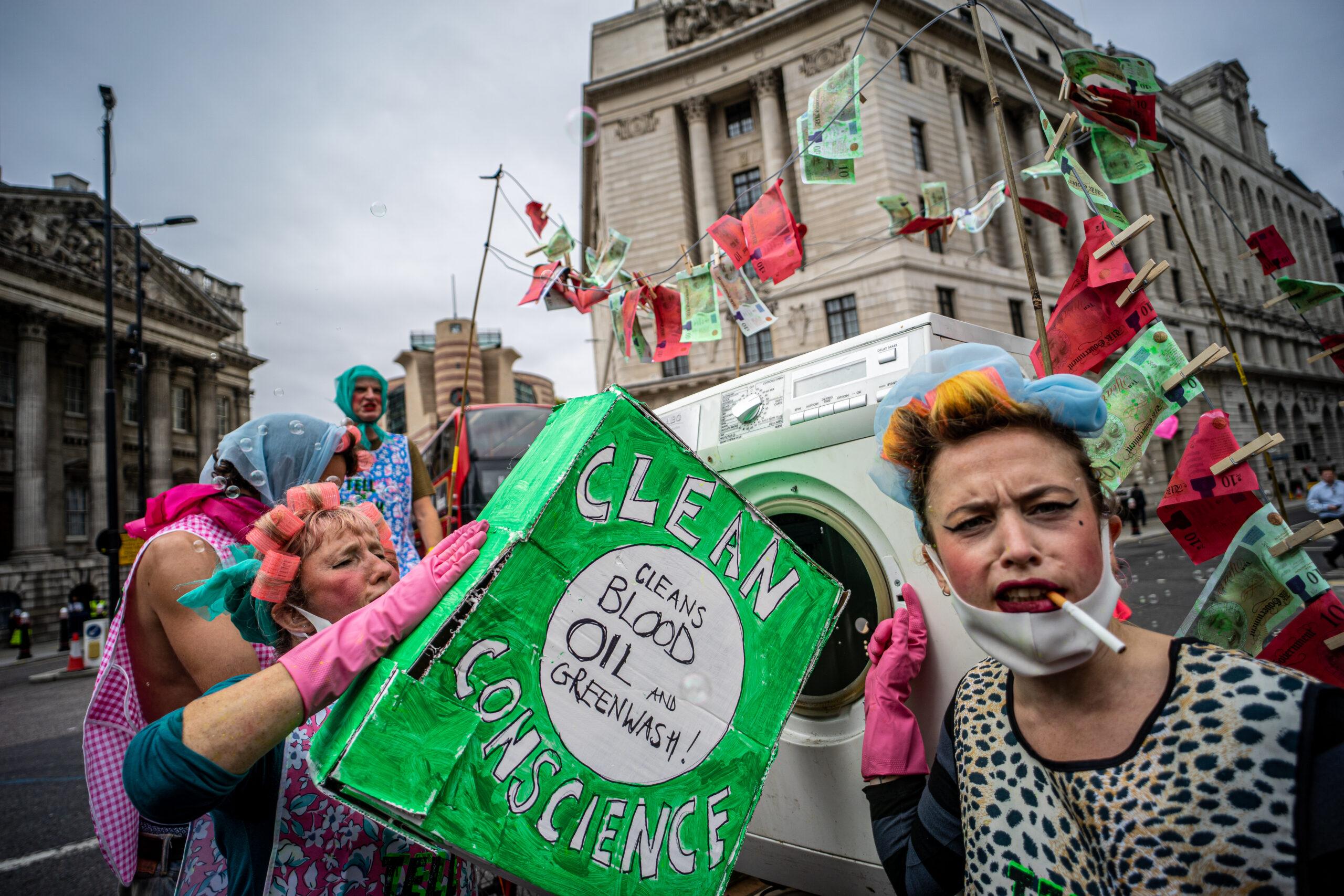 Extinction Rebellion. Greenwashing